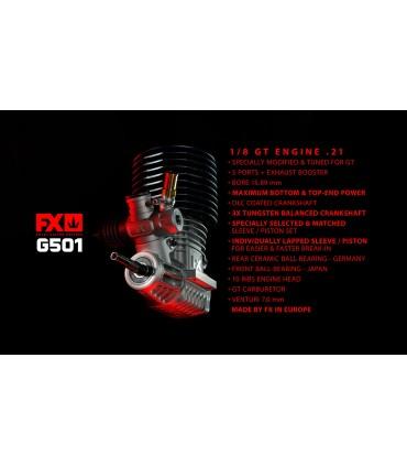 FX G501-5 PORTS, DLC, CERAMIC BEARING, BALANCED